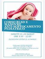 Corso Blsd e antisoffocamento pediatrico