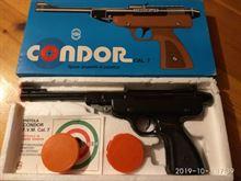 Pistola giocattolo 7mm Condor anni '70
