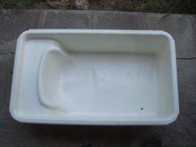 Vasca plastica x bagnetto neonato + materassino