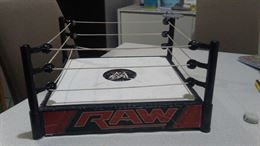 WWE ring + action figure