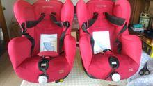 Due seggiolini auto Bebè Confort modello Iseos Isofix