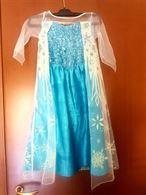 Frozen Abito+ Parrucca Decorata